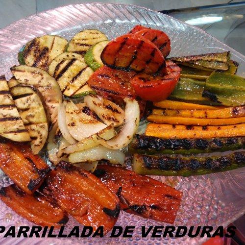 Parrillada de verdura natural